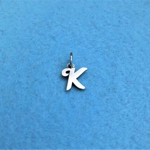 "JAMES AVERY ~ ""K"" Silver Charm!"